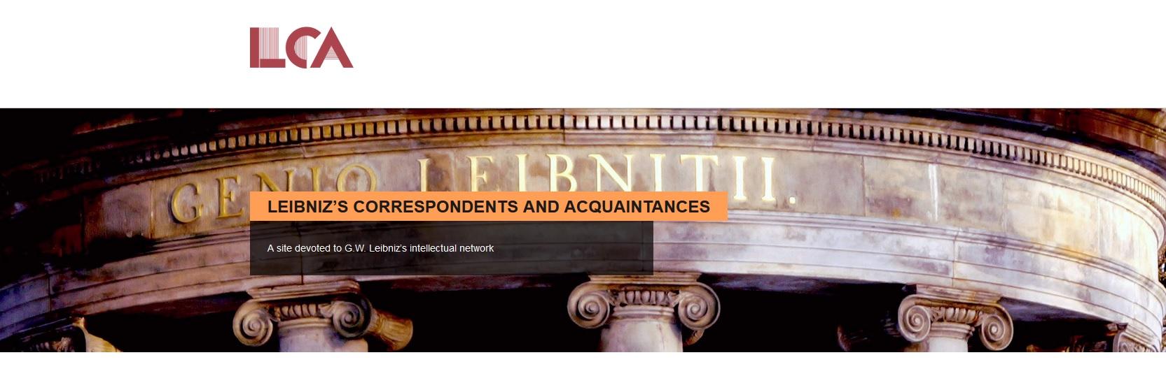 Leibniz's Correspondents and Acquaintances