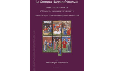 La Summa Alexandrinorum, Frédérique Woerther.