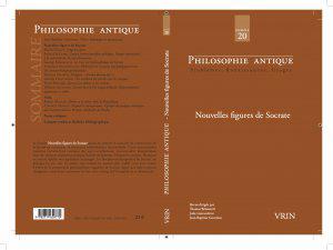 Parution nov. 2020 /2 : «Nouvelles figures de Socrate»