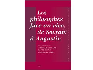 Parution janv. 2020 : « Les philosophes face au vice » – Dimitri EL MURR