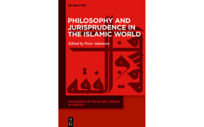 Parution : Splitting the Process and the Result : Philosophy from a Legal Perspective in Averroes' Decisive Treatise, Ziad Bou Akl