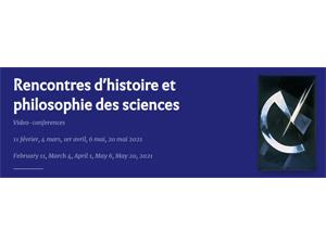 Rencontres d'histoire et philosophie des sciences @ En visio conférence
