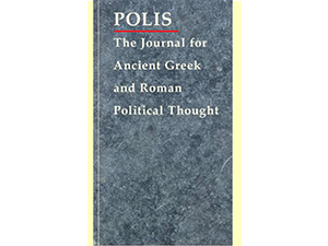 Parution : revue Polis, 38/2021, «Legislation and Lawgiving: Philosophical Perspectives on Antiquity»